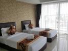 White twin comfy bedroom - Retreat Resort Khaotalo